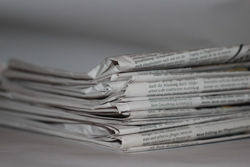 news, newsletter, newspaper