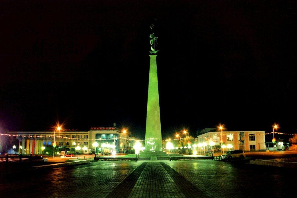 shymkent, kazakhstan, obelisk